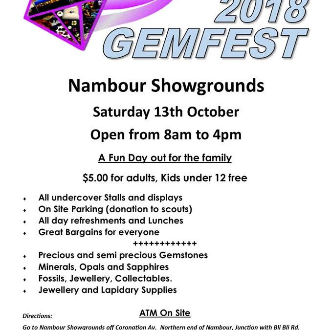 Stop by the 2018 Nambour Gemfest Near Our Affordable Motor Lodge