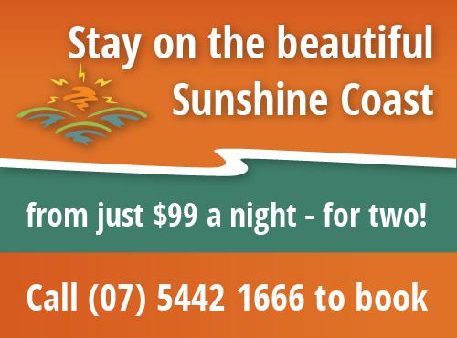 Sunshine Coast Motor Lodge April Graphic