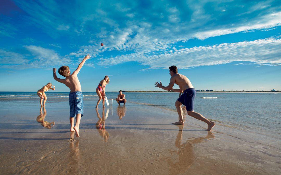 Beach Cricket Sunshine Coast