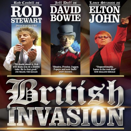 BRITISH INVASION at the Caloundra Events Centre This July