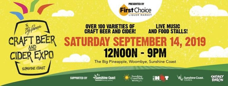 Craft Beer Cider Festival Sunshine Coast 2019
