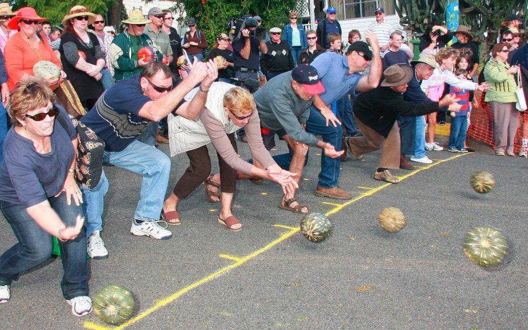 Send Your Pumpkins Rolling Down the Hill at Goomeri Pumpkin Fest!