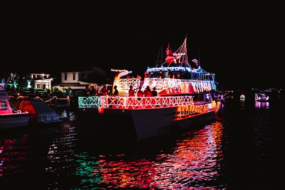 Join the Mooloolaba's Christmas Boat Parade 2014