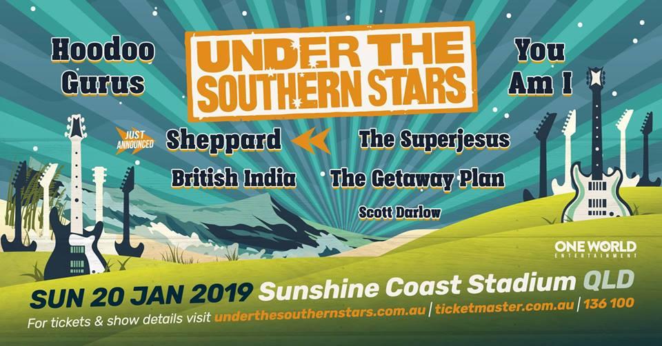 Under the Southern Stars 2019 Cheap Sunshine Coast Accommodation