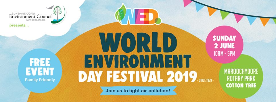 Attend World Environment Day Festival Near Our Cheap Sunshine Coast Accommodation
