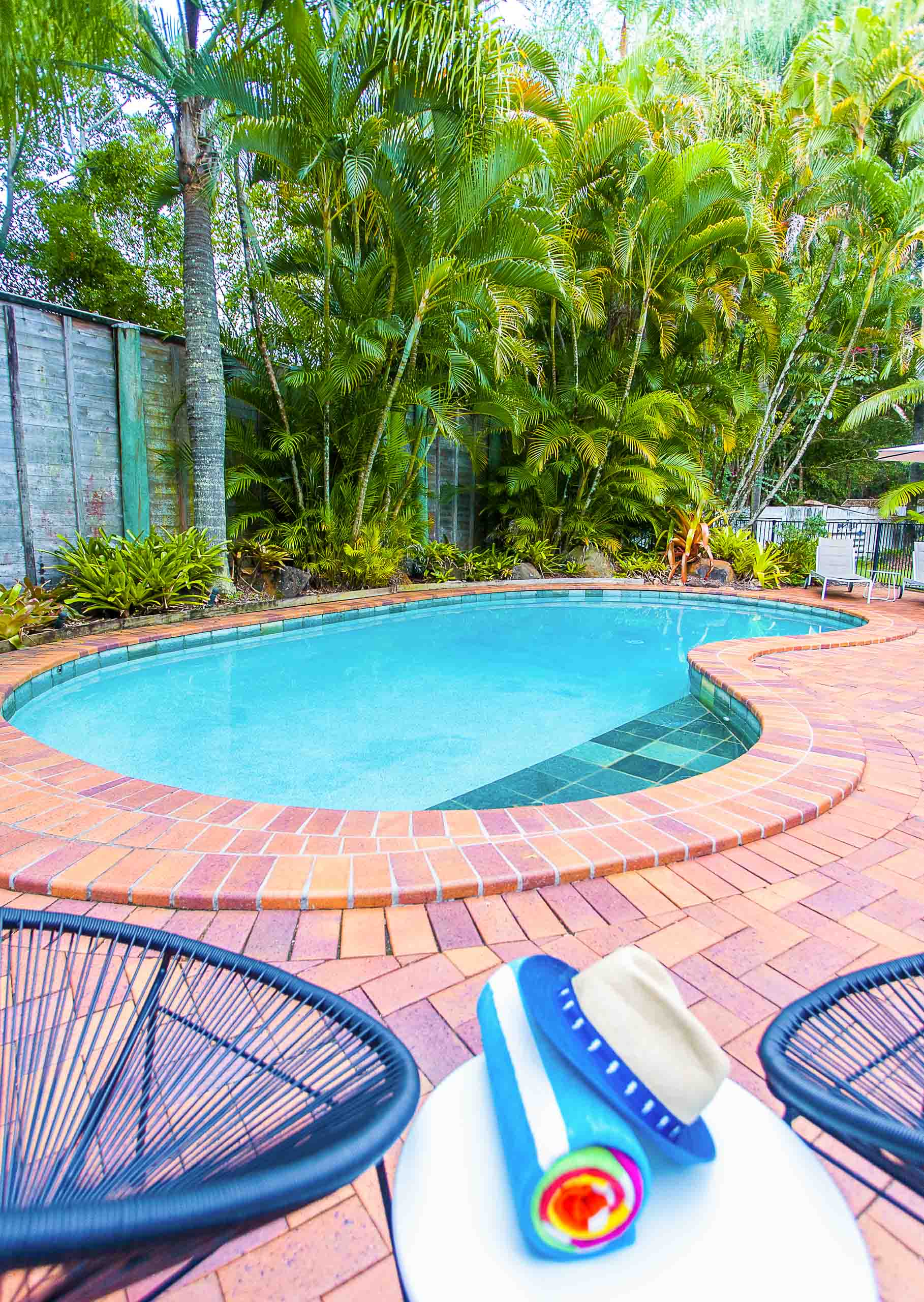 Sunshine Coast Motor Lodge facilities pool