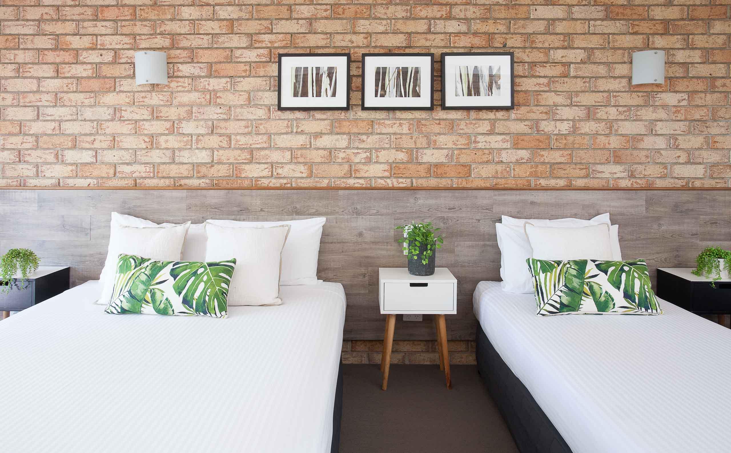 Sunshine Coast Motor Lodge Accommodation Signature Family Triple Share Unit