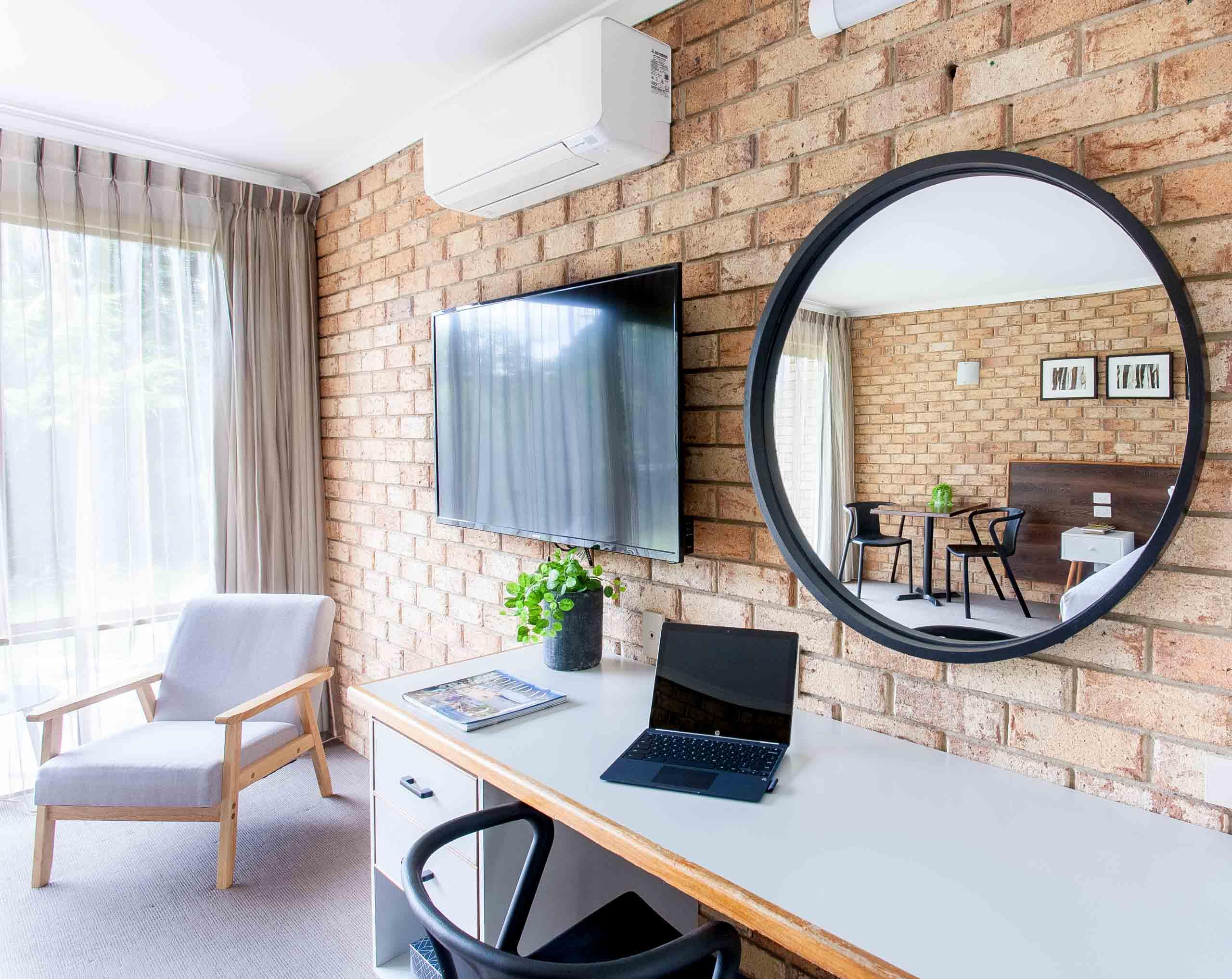 Sunshine Coast Motor Lodge Accommodation Signature Garden View Single Studio
