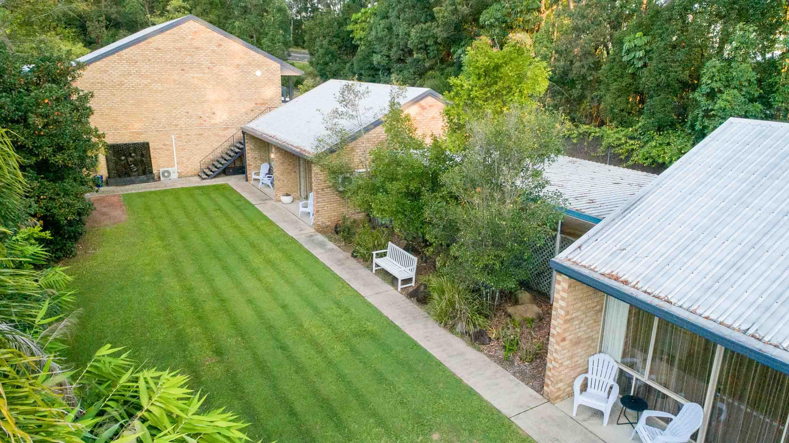 Sunshine Coast Motor Lodge aerial